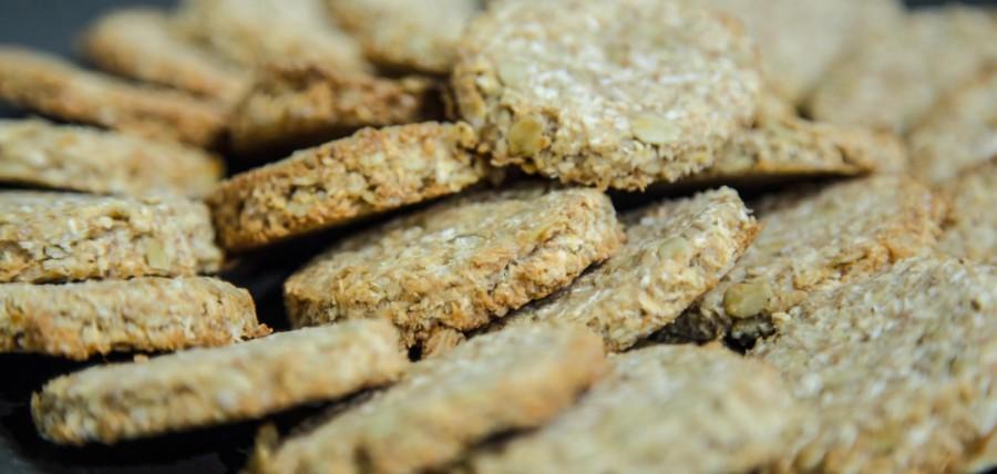 Biscotti rustici ai fiocchi d'avena