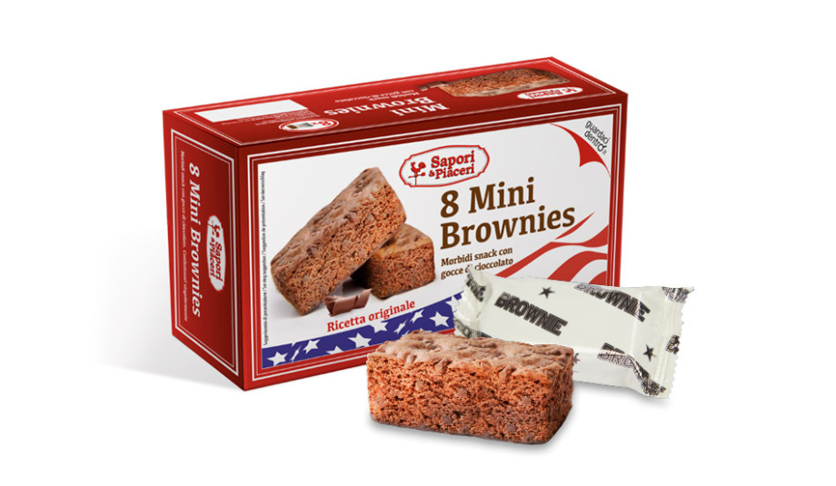 The school is back con Mini Brownies snack!