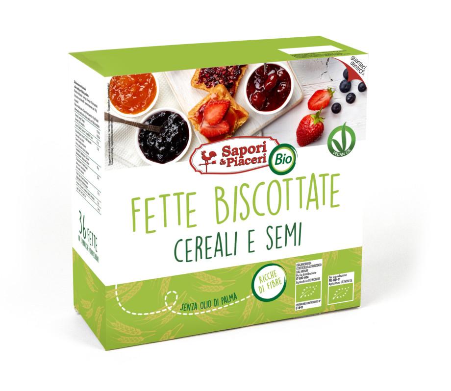 Fette Biscottate Cereali E Semi