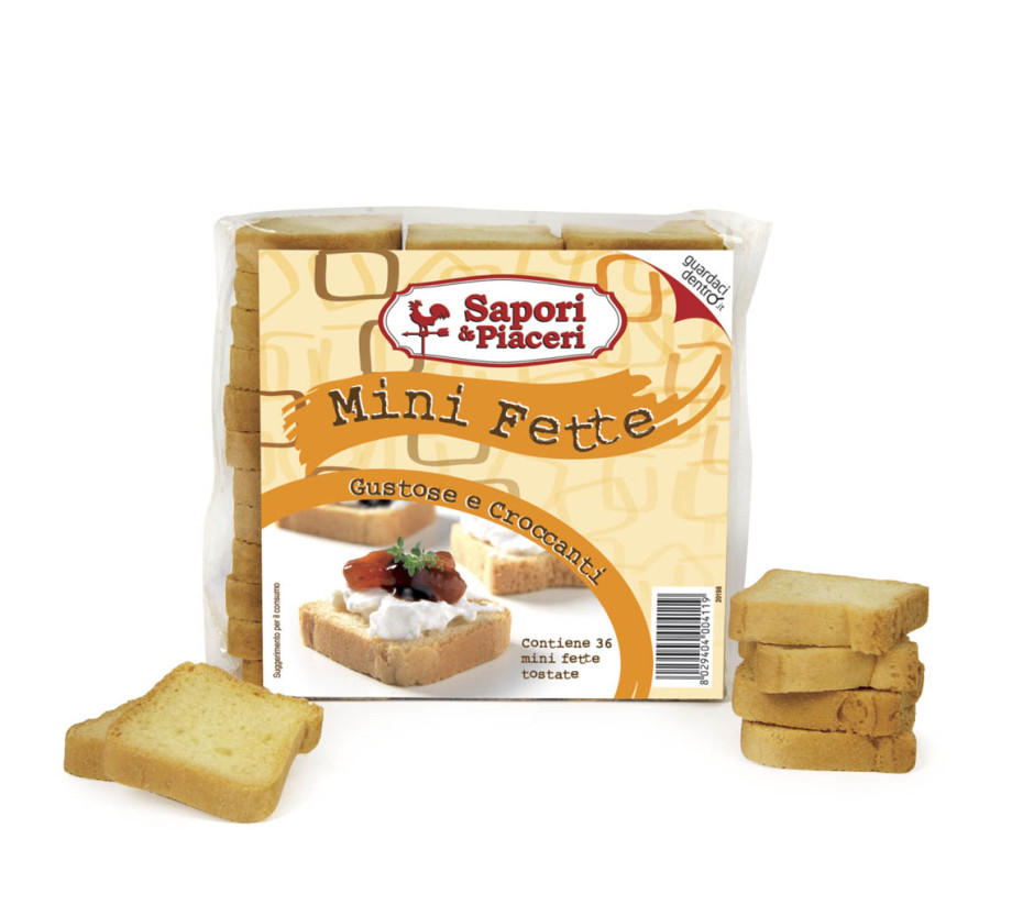 Mini fette biscottate