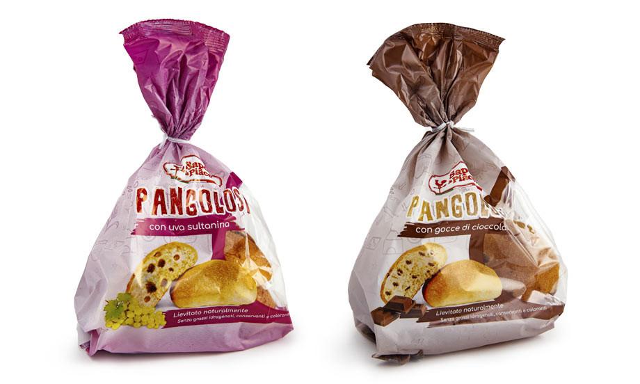 Pangolosi con Uva Sultanina e Pangolosi con Gocce di Cioccolato, tutto il gusto della semplicità.